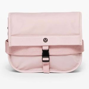 NEW! Lululemon Now & Always Crossbody Bag Pink